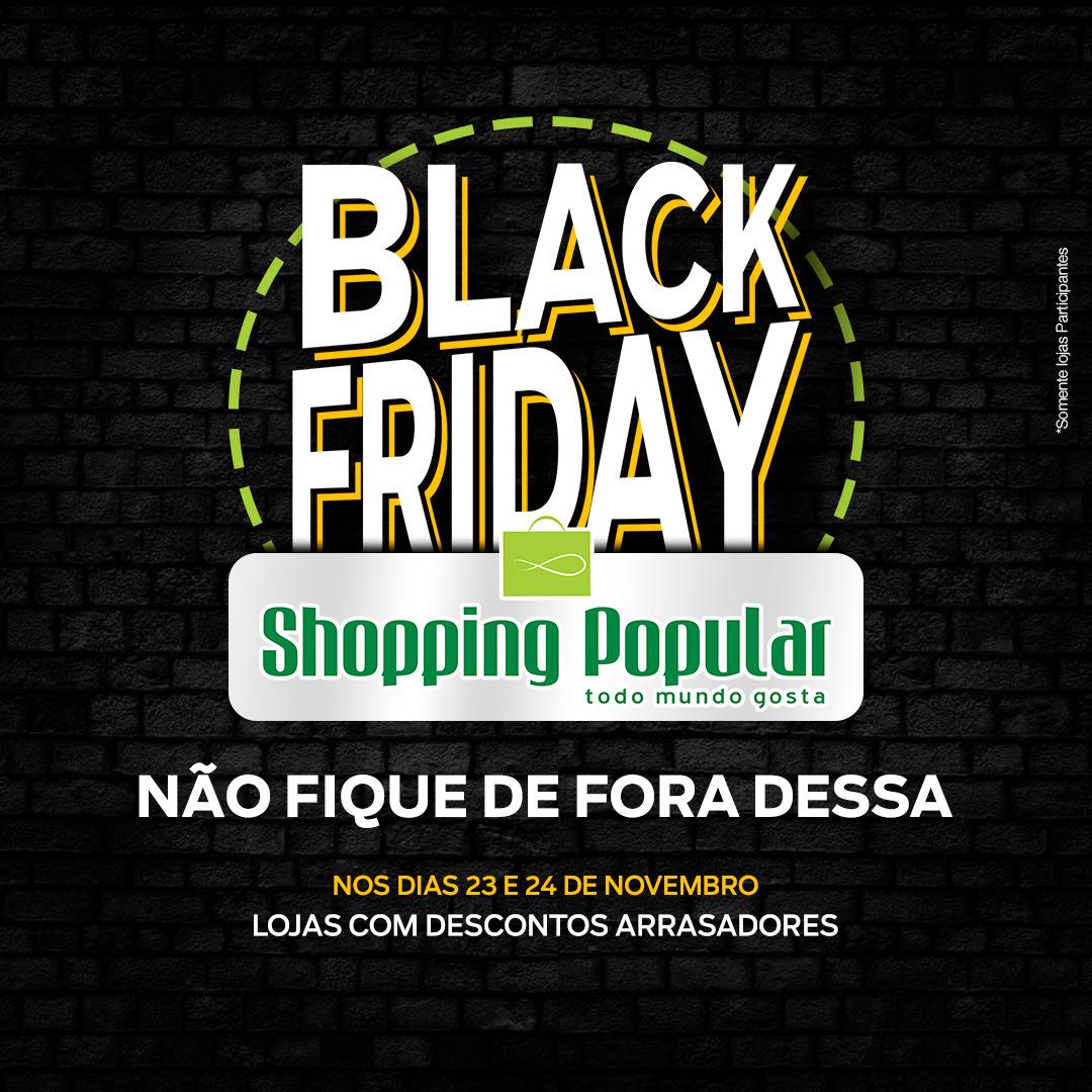 c9ceaca5b7 Shopping Popular em Cuiabá realiza Black Friday com descontos em vários  produtos - Olhando a Notícia